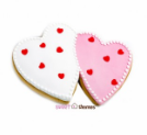 Double Heart Cookie Cutter 14 cm