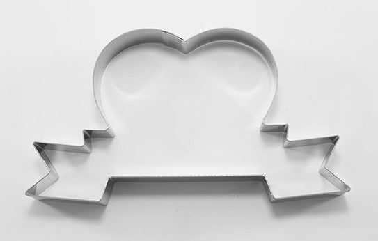 Heart with Sign Cookie Cutter  13cm | Cookie Cutter Shop Australia
