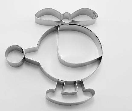 Helicopter cookie cutter set 5 pieces | Cookie Cutter shop Australia