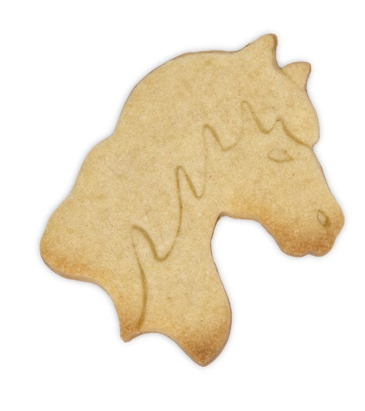 Horse Head Cookie Cutter with Internal Detail 7.5cm