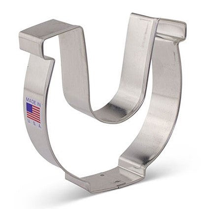 Horseshoe Cookie Cutter 10cm | Cookie Cutter Shop Australia