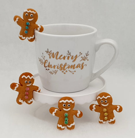 Mini Hug Mug Gingerbread Man