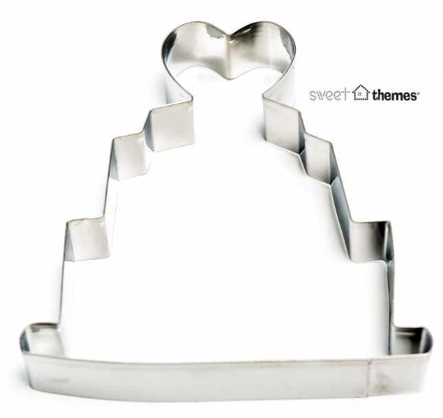 Wedding Cake 10cm Cookie Cutter