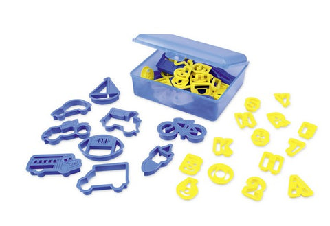 Creative Kids Cookie Cutter Box 53 Pieces