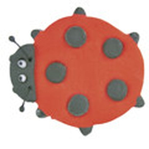 Ladybug with Embossed Dots 6.5cm Cookie Cutter-Cookie Cutter Shop Australia