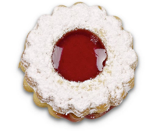 Interchangable Centre Crinkled Round Linzer 4cm Cookie Set | Cookie Cutter Shop Australia