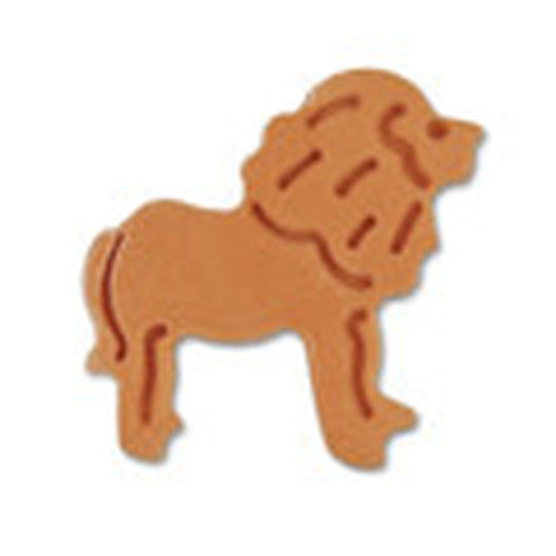 Lion Plastic Embossed Cookie Cutter-Cookie Cutter Shop Australia