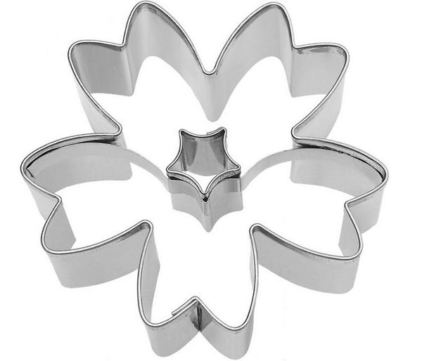 Flower Cookie Cutter with Internal Detail | Cookie Cutter Shop Australia