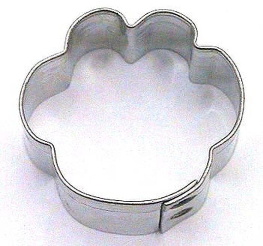 Paw Print Mini 3cm Cookie Cutter-Cookie Cutter Shop Australia