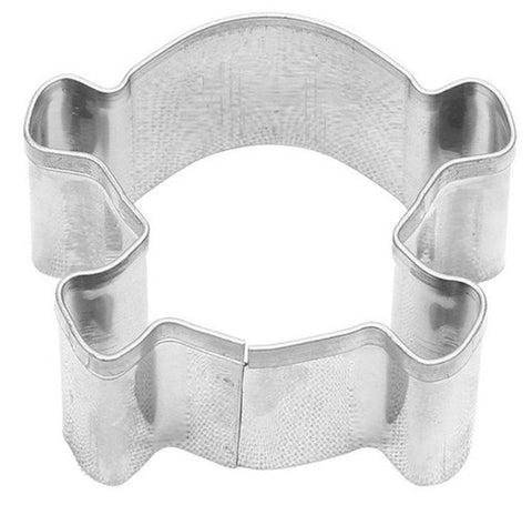 mini skull crossbones cookie cutter