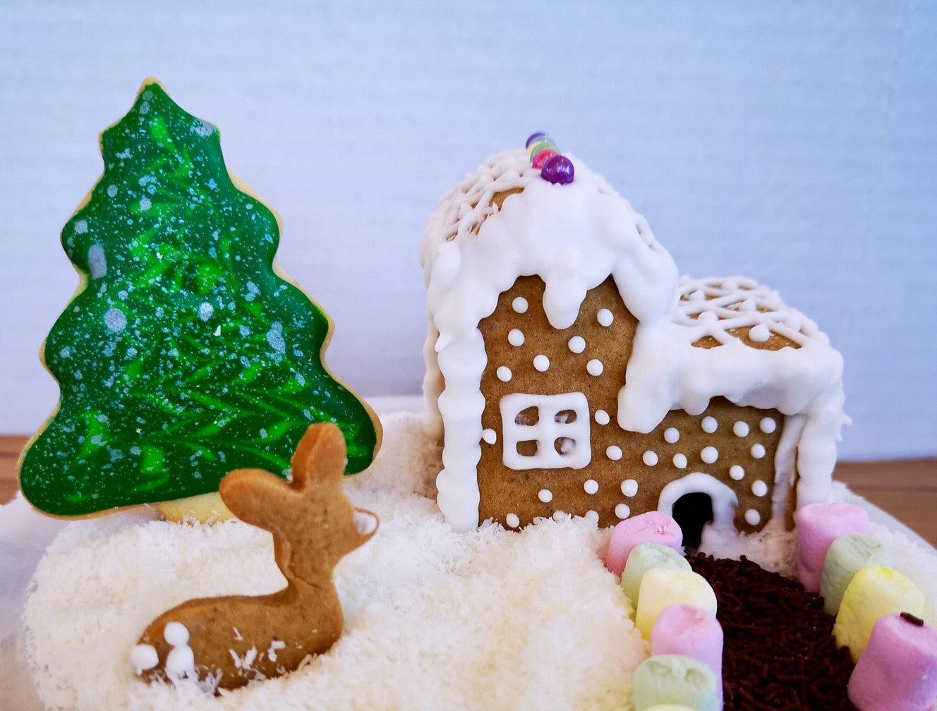Mini Gingerbread House Two Storey Cookie Cutter