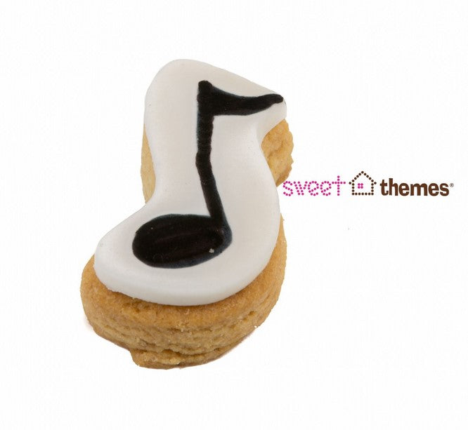Music Note Cookie Cutter Mini 4.5cm | Cookie Cutter Shop Australia