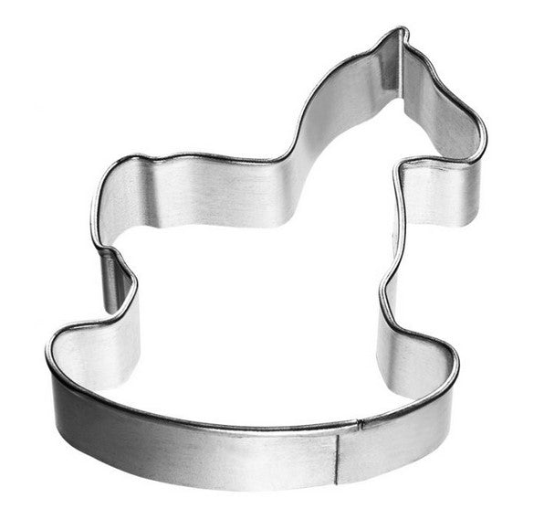 Rocking Horse Cookie Cutter 6cm | Cookie Cutter Shop Australia