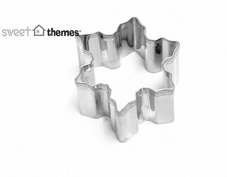 Mini Snowflake Cookie Cutter 4cm
