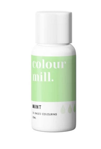 Mint Oil Based Colouring 20ml