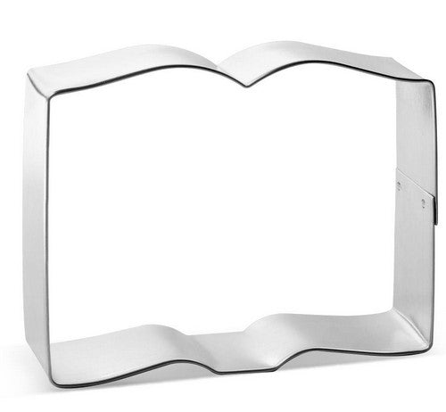 Open Book Cookie Cutter 10cm