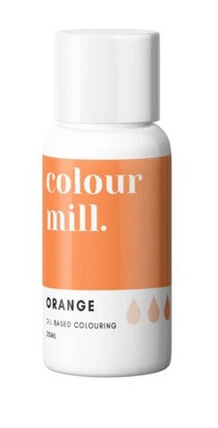 Oil Based Colouring 20ml Orange