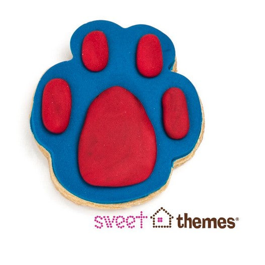 Paw Print Cookie Cutter 6cm