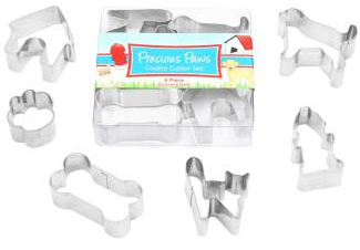 Precious Paws Cookie Cutter Set Mini 6 pieces | Cookie Cutter Shop Australia