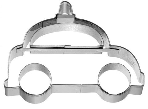 Police Car Cookie Cutter with Embossed Detail
