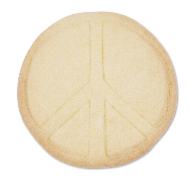 Peace Sign 6.5cm Cookie Cutter