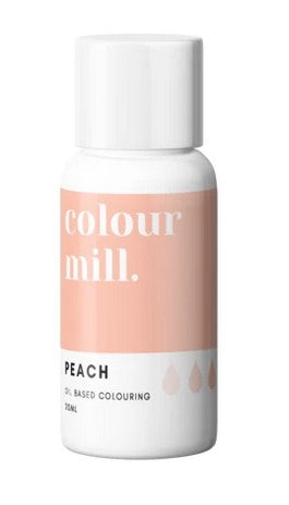 Colour mill Peach Oil Based Colouring 20ml | Cookie Cutter Shop Australia