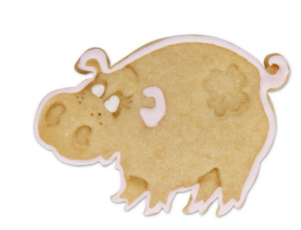 Pig Cookie Cutter Stamp and Ejector
