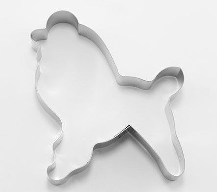Poodle Cookie Cutter 9.5cm