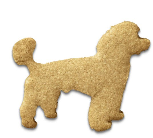 Poodle Dog Cookie Cutter 6.5cm