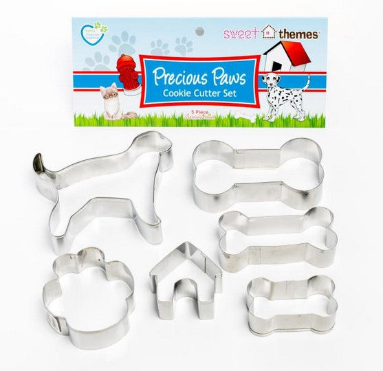 Dog and Bone Cookie Cutter Set 6 pieces | Cookie Cutter Shop Australia