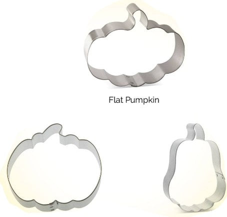 Pumpkin Cookie Cutter Set 3 Pieces | Cookie Cutter Shop Australia