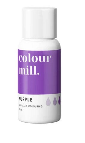 Colour Mill Purple Oil Based Colouring 20ml | Cookie Cutter Shop Australia
