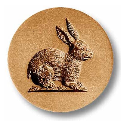 Springerle Mould 'Rabbit in Round'