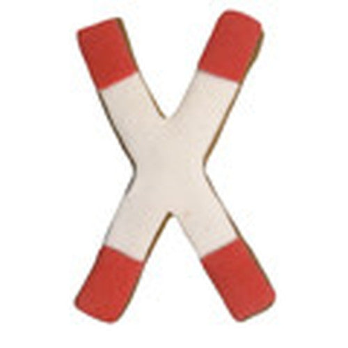 Railway Crossing Traffic Sign Cookie Cutter-Cookie Cutter Shop Australia
