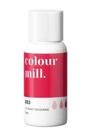 Colour Mill Red Oil Based Colouring 20ml  Cookie Cutter Shop Australia