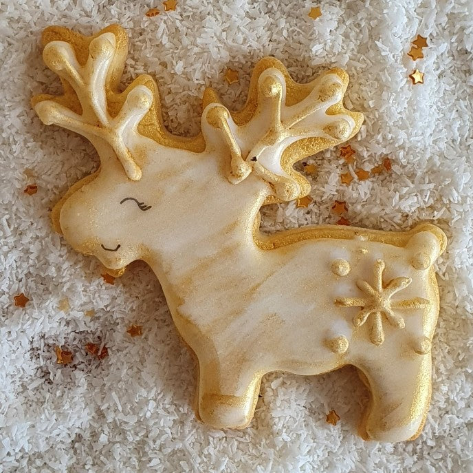 Reindeer Cookie Cutter 7.5cm | Cookie Cutter Shop Australia