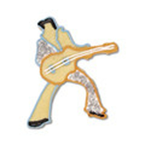 Rock Star Elvis 10cm Cookie Cutter-Cookie Cutter Shop Australia