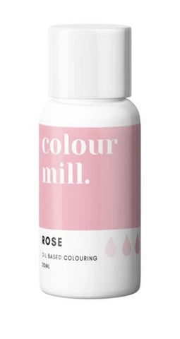 Colour Mill Rose Oil Based Colouring 20ml | Cookie Cutter Shop Australia