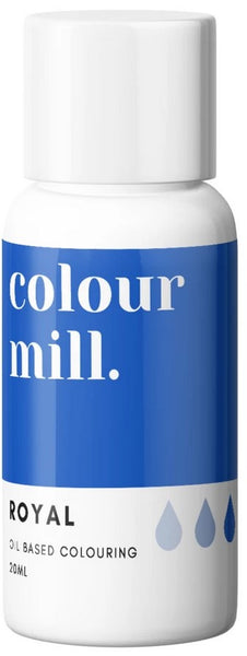 Colour Mill Royal Blue Oil Based Colouring 20ml | Cookie Cutter Shop Australia