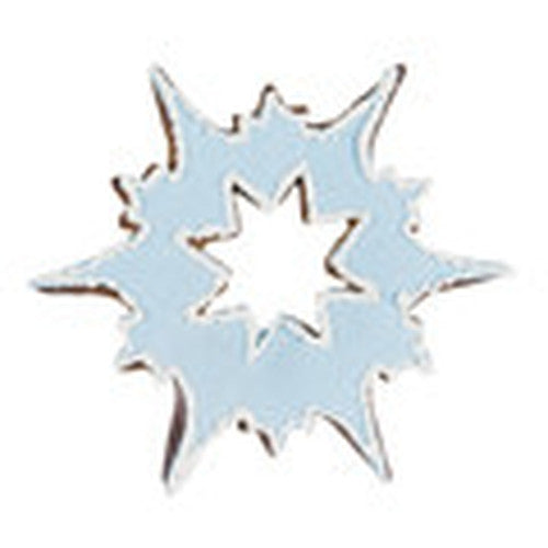 Snowflake Ice Crystal 7.5cm Cookie Cutter-Cookie Cutter Shop Australia