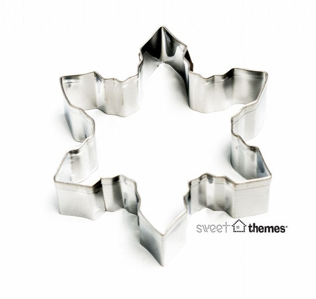Small Snowflake Cookie Cutter 7cm | Cookie Cutter Shop Australia
