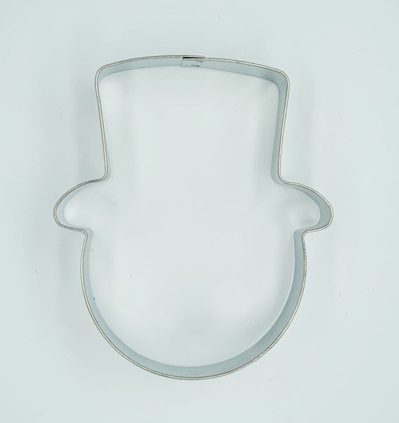 Face with Hat Cookie Cutter