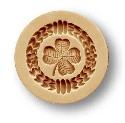 Springerle Mould Clover Leaf 40mm | Cookie Cutter Shop Australia