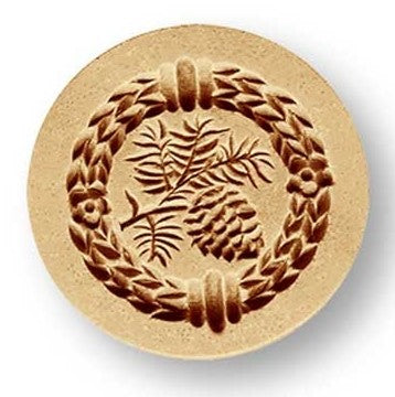 Springerle Mould 'Pine Cones Mini' 40mm | Cookie Cutter Shop Australia