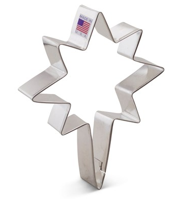 Christmas Star  Bethlehem Star Cookie Cutter 12cm | Cookie Cutter shop Australia