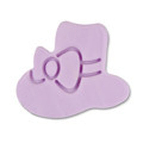 Sun Hat Plastic Embossed 5cm Cookie Cutter-Cookie Cutter Shop Australia