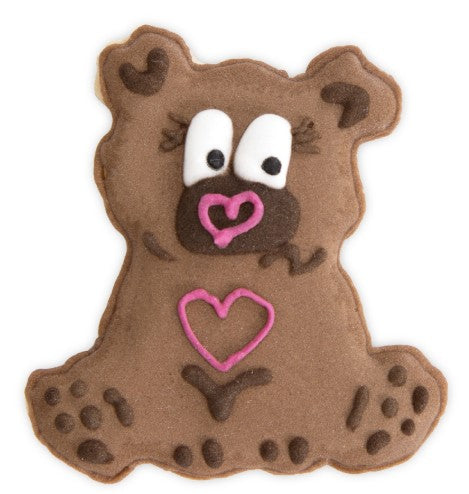 Teddy Bear Cookie Cutter Embosser and Ejector