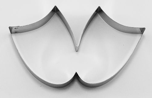 Mask Cookie Cutter Tragic Comedy  | Cookie Cutter shop Australia