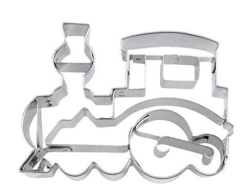 Train Cookie Cutter with Embossed Detail | Cookie Cuttet Shop Australia