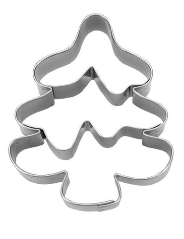Christmas Tree Cookie Cutter with Embossed Detail | Cookie Cutter Shop Australia